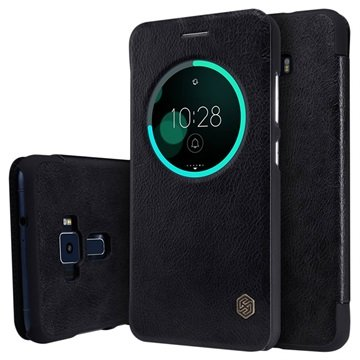 reputable site 2f9dd 20a13 Asus Zenfone 3 ZE552KL Nillkin Qin Smart View Flip Case
