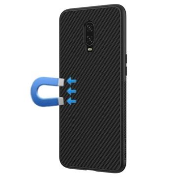 Nillkin Synthetic Carbon Fiber OnePlus 6T Case - Black