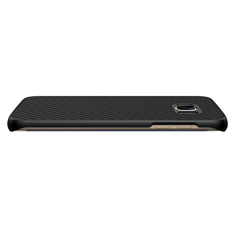 Samsung Galaxy S7 Edge Nillkin Carbon Fiber Case Black