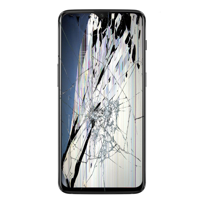 OnePlus 6T LCD and Touch Screen Repair - Black