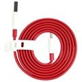 OnePlus USB Type-C Cable - Red / White