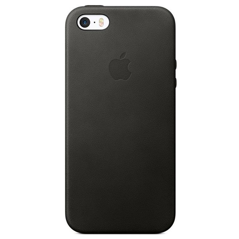Iphone 5 5s Se Apple Leather Case Mmhh2zm A Black