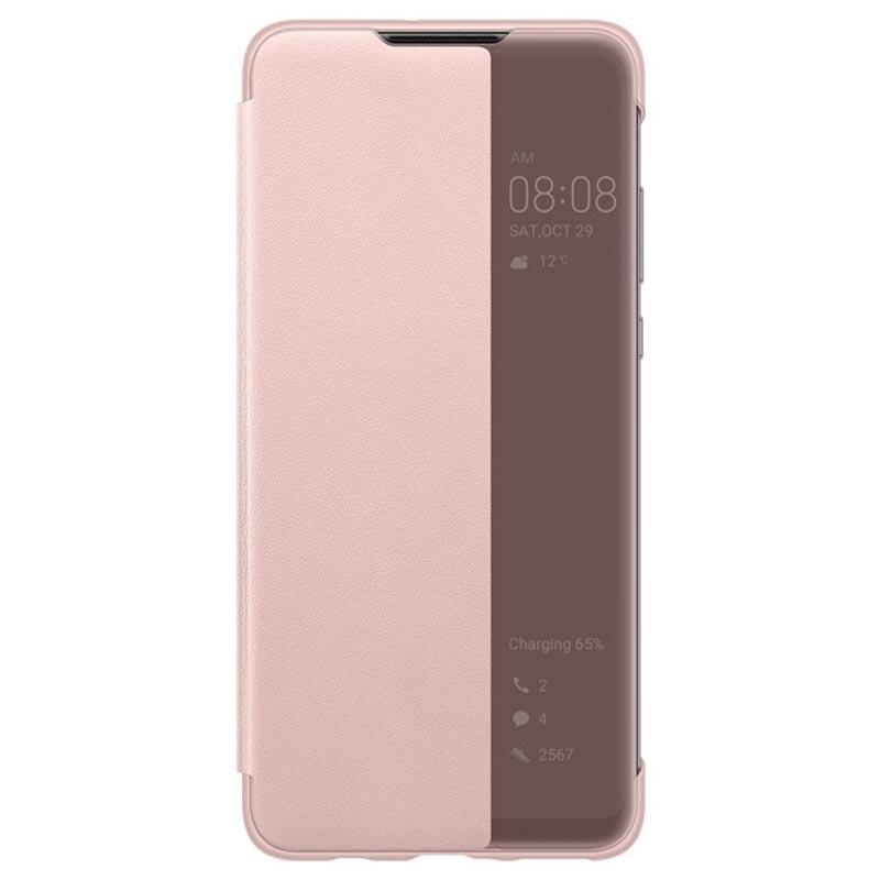 Huawei P30 Lite Smart View Flip Case 51993078 - Pink