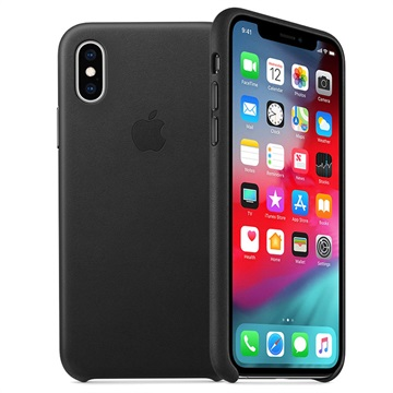new arrival 3d969 24a70 iPhone XS Max Apple Leather Case MRWT2ZM/A