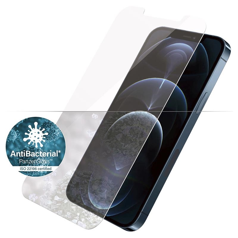 PanzerGlass iPhone 12 Pro Max Tempered Glass Screen Protector - Transparent