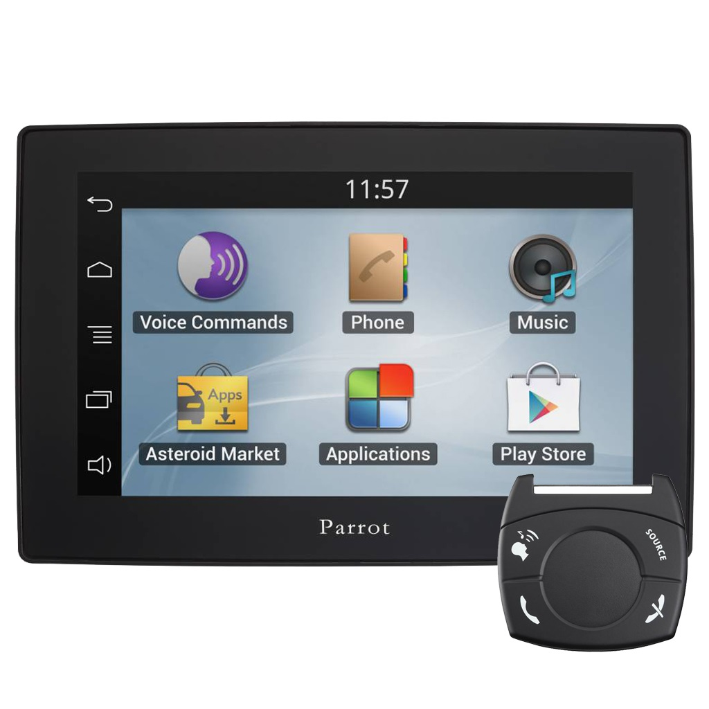 parrot asteroid tablet bluetooth car kit. Black Bedroom Furniture Sets. Home Design Ideas