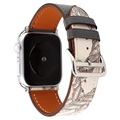 Apple Watch Series SE/6/5/4/3/2/1 Pattern Leather Strap - 42mm, 44mm