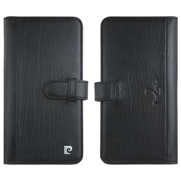 Pierre Cardin iPhone 11 Wallet Leather Case - Black