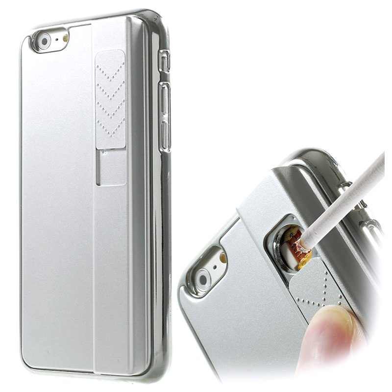 iphone lighter case iphone 6 6s plated lighter silver 11992