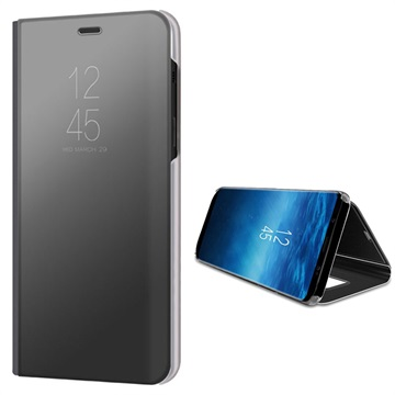 cheap for discount 4e046 ff578 Luxury Mirror View Samsung Galaxy A8+ (2018) Flip Case