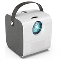 Portable HD Projector with Speaker Q3 - White