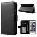 iPhone 6/6S Premium Wallet Case with Stand Feature - Black