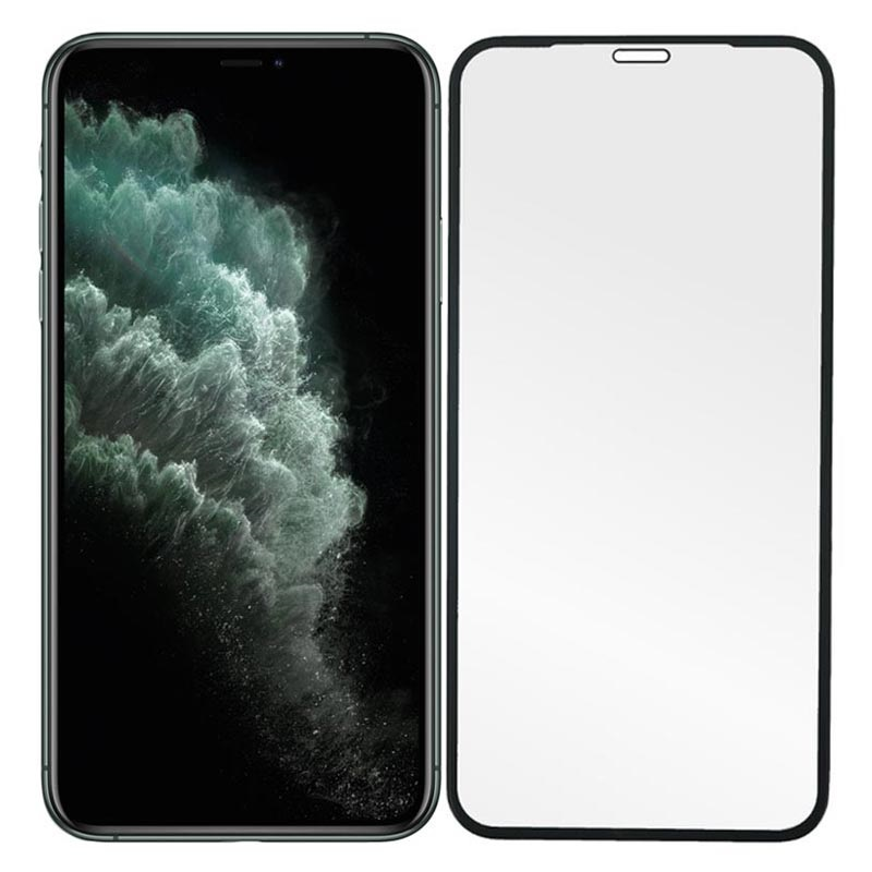 Prio 3d Iphone X Xs 11 Pro Tempered Glass Screen Protector Black