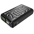 GreyLime Power Stone II Power Bank - 10400mAh, 18W - Black