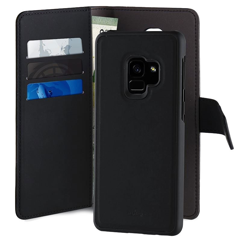 classic fit 02b9a 571c6 Samsung Galaxy S9 Puro 2-in-1 Magnetic Wallet Case