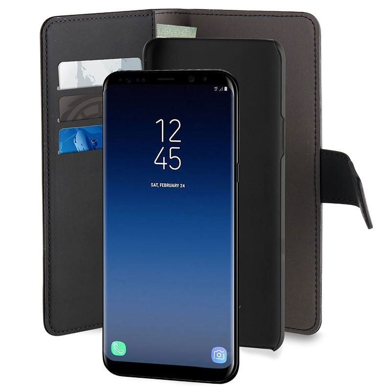 classic fit 7c403 7c955 Samsung Galaxy S9 Puro 2-in-1 Magnetic Wallet Case