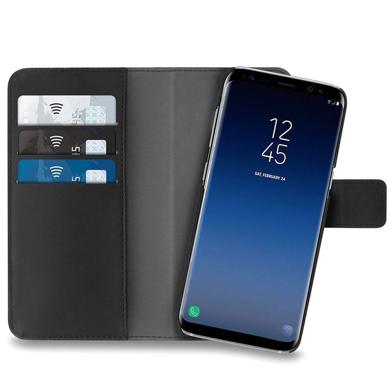 2 1 Magnetic Puro Case In Wallet Samsung Galaxy S9 WDHEYbe29I