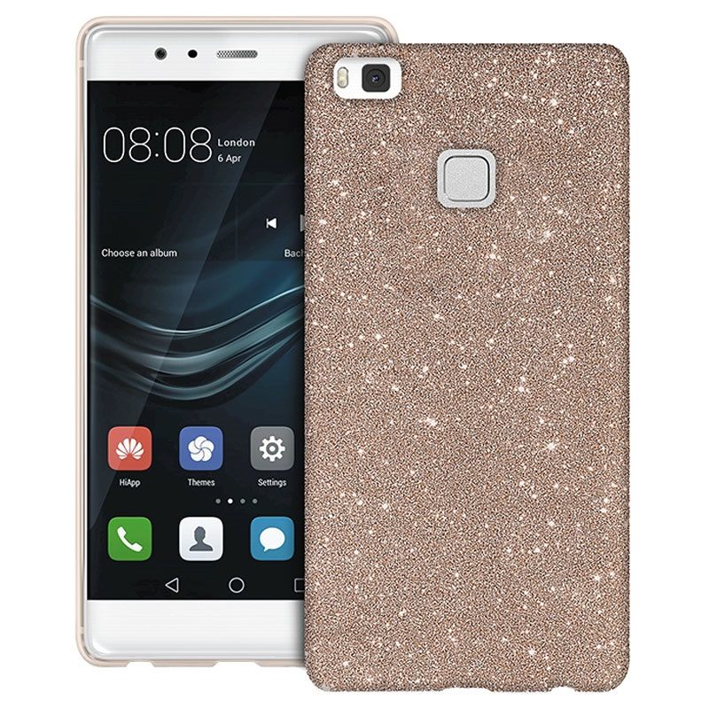 huawei p10 lite puro glitter case gold. Black Bedroom Furniture Sets. Home Design Ideas