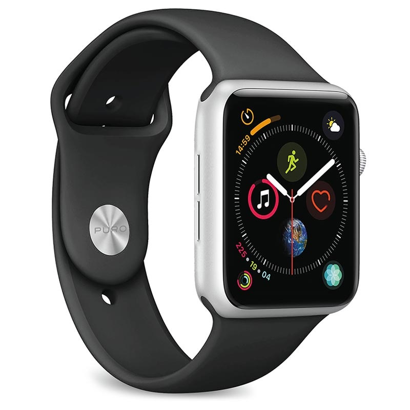 Puro Icon Apple Watch Series Se 6 5 4 3 2 1 Silicone Band 38mm 40mm