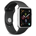 Puro Icon Apple Watch Series SE/6/5/4/3/2/1 Silicone Band - 38mm, 40mm - Black