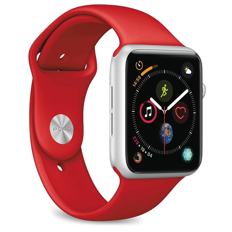 Puro Icon Apple Watch Series 4/3/2/1 Silicone Band - 42mm