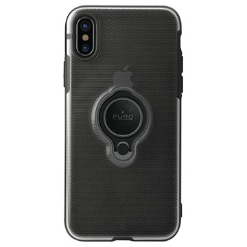 big sale 22463 35099 iPhone X Puro Magnet Ring Case