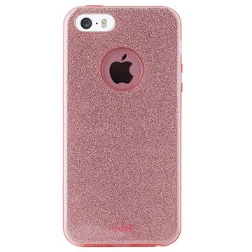 iphone 5 5s se puro glitter shine case rose gold. Black Bedroom Furniture Sets. Home Design Ideas