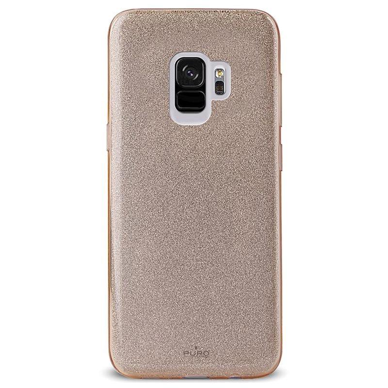 Samsung Galaxy S9 Puro Shine Glitter Tpu Case Gold