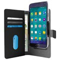 Puro Slide Universal Smartphone Wallet Case - XL - Black