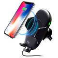Qi Wireless Car Charger / Car Holder with Infrared Motion Sensor C10