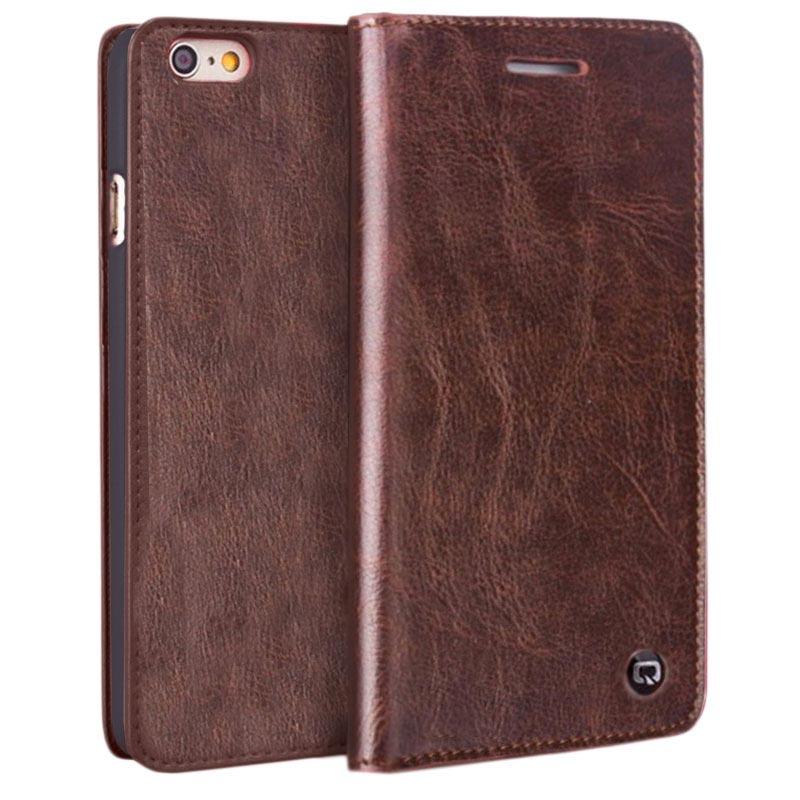 Pelle Cover Wallet Flip Case per iPhone 6 Plus / iPhone 6S Plus