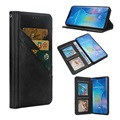 Quickdraw Multi Slot Huawei Mate 20 Pro Wallet Case - Black