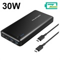 RAVPower 20100mAh PD Type-C Power Bank / USB Hub - 30W