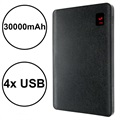 Remax Proda NoteBook Power Bank - 30000mAh, 4x USB - Black