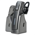 Remax RB-T6C Bluetooth Headset with Charging Dock - Grey