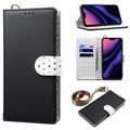 Retro Polka Dot iPhone 11 Pro Max Wallet Case