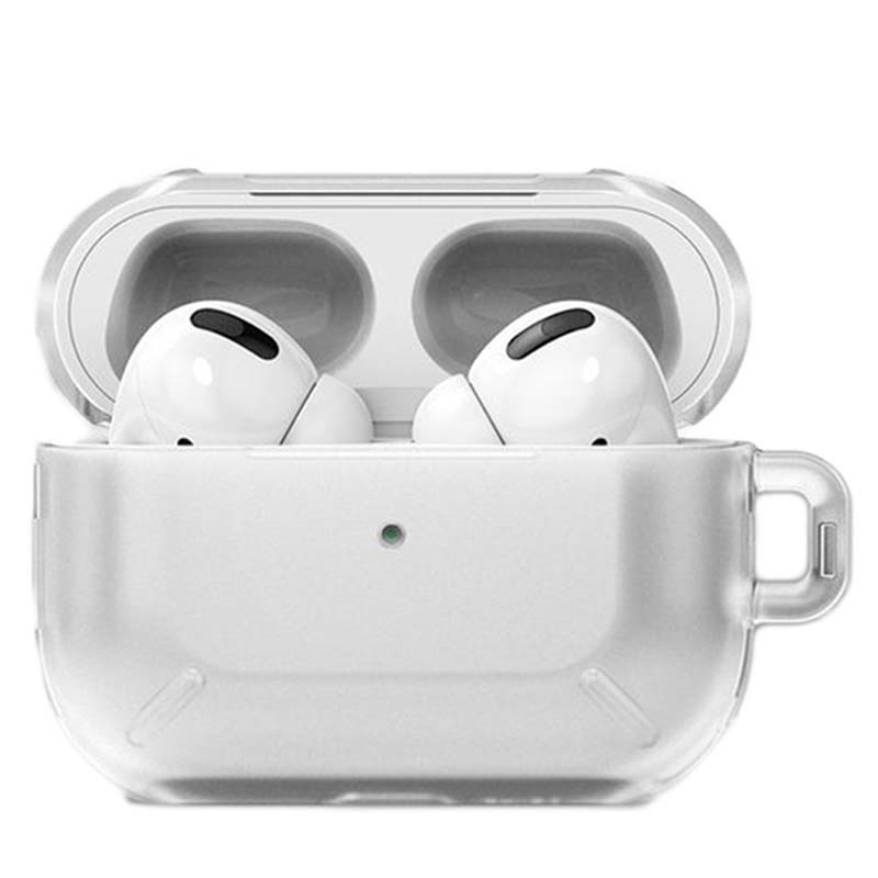 Ringke Layered Case Made for AirPods Pro Case with Carabiner Matte Clear 2019