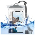 Ringke U-Fix Round IPX8 Waterproof Case - 18x12cm - Grey