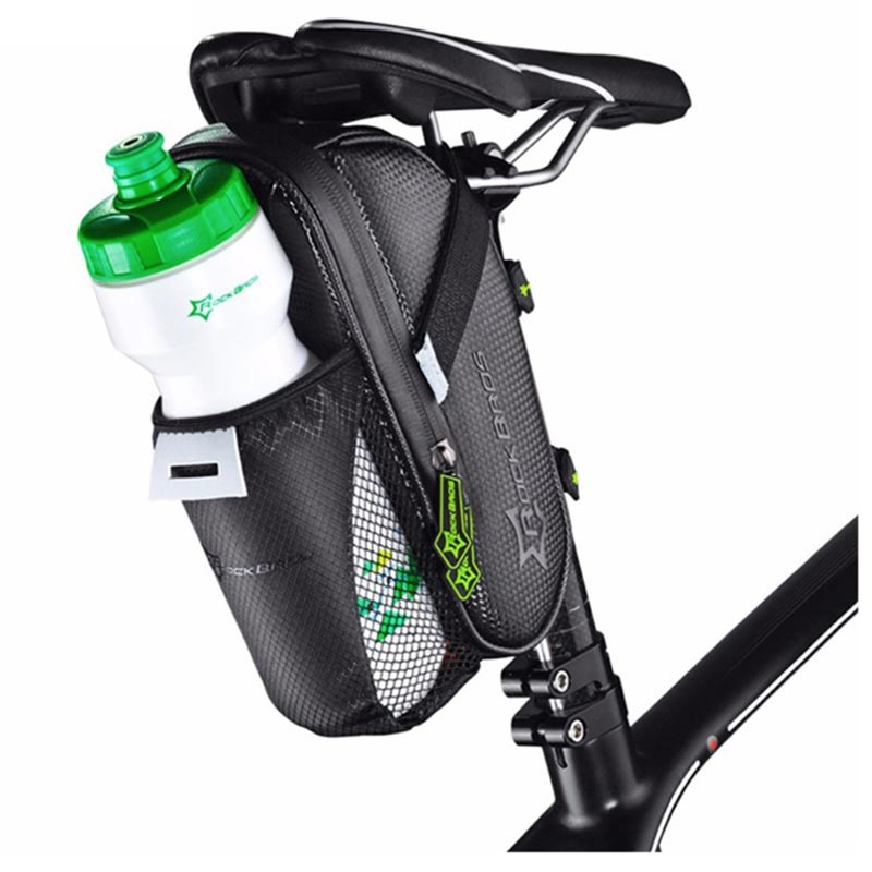 RockBros C7-1 Valkenburg Bicycle Case with Bottle Holder - Black