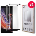Saii 3D Premium Samsung Galaxy Note9 Tempered Glass - 9H - 2 Pcs.