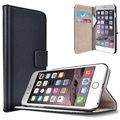 iPhone 6/6S Saii Classic Wallet Case - Black