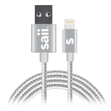 Saii Lightning Cable - iPhone, iPad, iPod - 1.2m