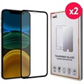 Saii 3D Premium iPhone 11 Pro Tempered Glass Screen Protector - 9H - 2 Pcs.