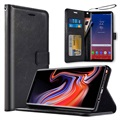 Saii Premium Samsung Galaxy Note9 Wallet Case - Black