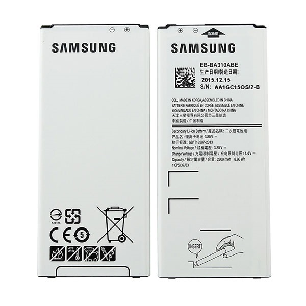 a samsung eb ba310abe galaxy a3 battery official mytrendyphone. Black Bedroom Furniture Sets. Home Design Ideas