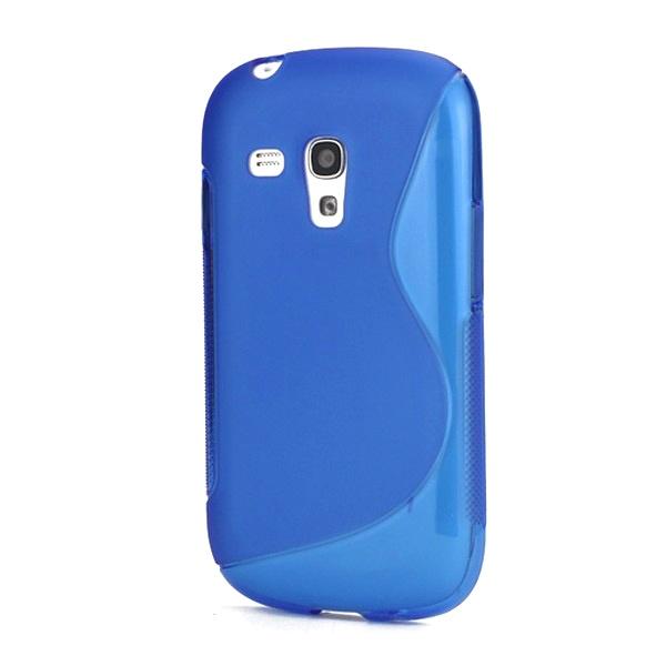 Samsung Galaxy S3 Mini I8190 S-Curve TPU Case - Blue