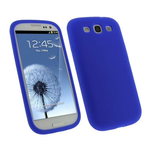 Samsung Galaxy S3 i9300 iGadgitz Silicone Case - Blue