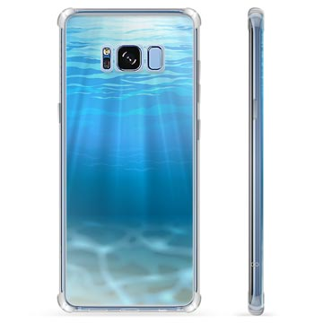 best service 8cbd2 4d638 Samsung Galaxy S8+ Hybrid Case - Sea