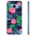 Samsung Galaxy S8 TPU Case - Tropical Flower