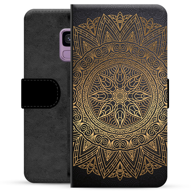 big sale c820d 90398 Samsung Galaxy S9 Premium Wallet Case - Mandala